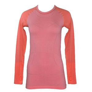 Luluemon Athletica Womens Top Orange Size 6 New